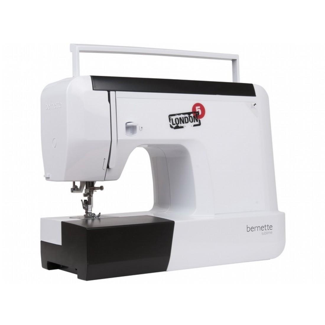 тест швейная машина бернина лондон5 том